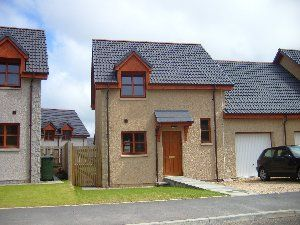Thumbnail 3 bed semi-detached house to rent in Bain Avenue, Moray, Elgin