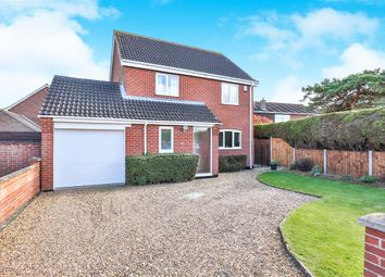 Thumbnail 4 bed detached house for sale in Hewitts Lane, Wymondham