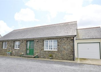 Thumbnail 3 bed detached bungalow for sale in Abereiddy Road, Croesgoch, Haverfordwest
