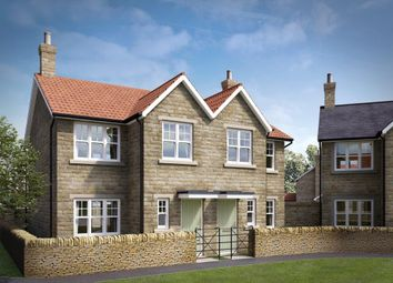 Thumbnail 3 bed semi-detached house for sale in Van Dyk Village, Worksop Road, Clowne, Chesterfield