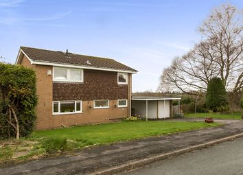 Thumbnail 4 bed detached house for sale in Gawsworth Close, Holmes Chapel, Crewe