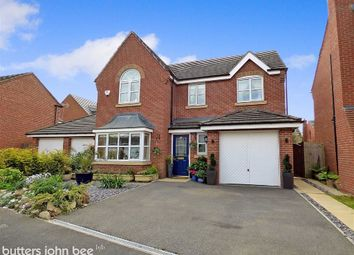 Thumbnail 4 bed detached house for sale in Salisbury Close, Crewe