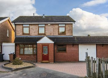 Thumbnail 3 bed detached house for sale in Lance Drive, Burntwood