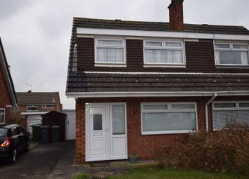 Thumbnail 3 bed semi-detached house for sale in Eccleston Close, Prenton