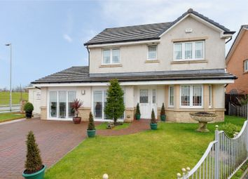 Thumbnail 4 bed detached house for sale in Clement Drive, Airdrie, North Lanarkshire