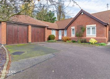 Thumbnail 4 bed detached bungalow for sale in Stokes Close, Longstanton, Cambridge