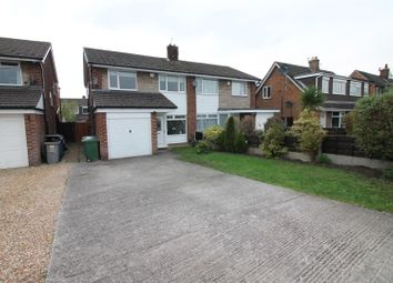 Thumbnail 3 bed semi-detached house for sale in Arundel Avenue, Urmston, Manchester