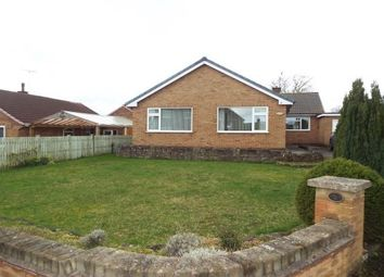 Thumbnail 3 bed bungalow to rent in Rectory Road, Mansfield