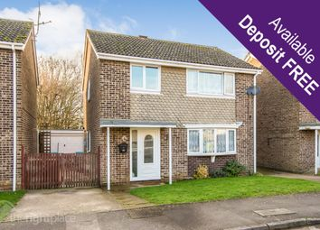 Thumbnail 4 bed detached house to rent in Welland Drive, Newport Pagnell
