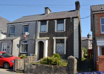 Thumbnail 2 bed semi-detached house for sale in County Road, Penygroes, Caernarfon, Gwynedd