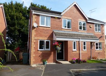 Thumbnail 3 bed semi-detached house for sale in Fisher Way, Heckmondwike, West Yorkshire.