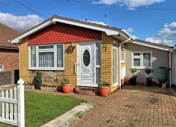 Thumbnail 2 bed detached bungalow for sale in Gafzelle Drive, Canvey Island, Essex