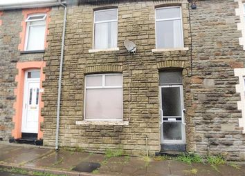 Thumbnail 3 bed terraced house for sale in Wyndham Street, Evanstown, Porth