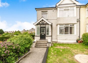 Thumbnail 3 bedroom semi-detached house for sale in Victoria Road, St. Budeaux, Plymouth
