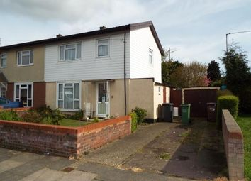 Thumbnail 3 bed semi-detached house for sale in Williton Road, Luton, Bedfordshire