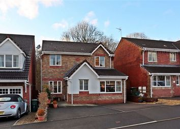 Thumbnail 4 bed detached house for sale in Heol Lodwig, Church Village, Pontypridd