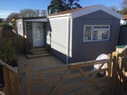 Thumbnail 1 bed bungalow for sale in Naish Estate, New Milton, Hants
