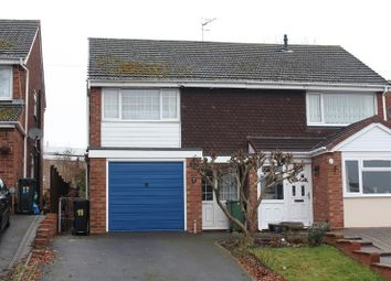 Thumbnail 3 bed semi-detached house for sale in Sandhurst Road, Kingswinford