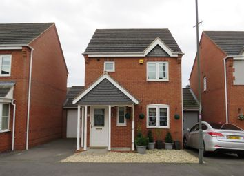 Thumbnail 3 bed detached house for sale in Avon Way, Hilton, Derby