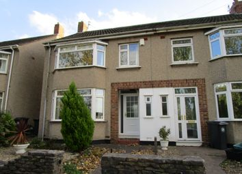 Thumbnail 3 bed terraced house to rent in Manor Road, Fishponds, Bristol