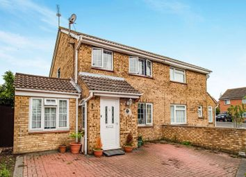 Thumbnail 3 bed semi-detached house for sale in Chadwick Close, Gravesend
