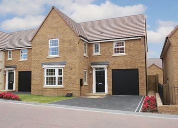 "Thumbnail 4 bed detached house for sale in ""Drummond"" at Stamford Road, Weldon, Corby"