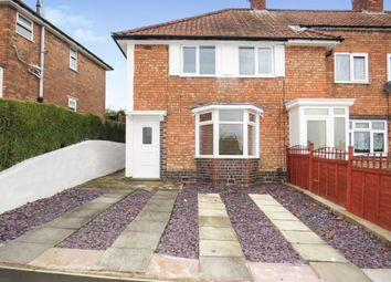 Thumbnail 3 bed end terrace house for sale in Sandmere Road, Birmingham