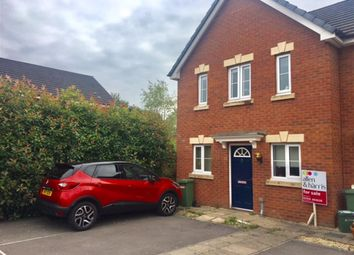 Thumbnail 3 bedroom end terrace house for sale in Maes Ifor, Taffs Well, Cardiff
