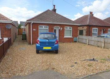 Thumbnail 2 bedroom detached bungalow for sale in Norwood Road, March