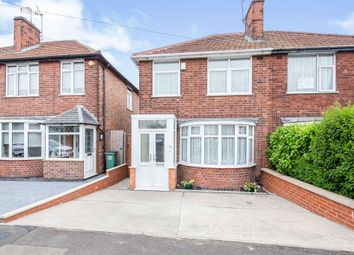 Thumbnail 3 bed semi-detached house for sale in Welcombe Avenue, Braunstone Town, Leicester
