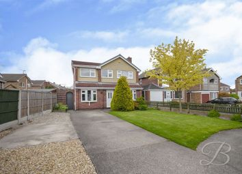 Thumbnail 4 bed detached house for sale in Norwich Close, Mansfield Woodhouse, Mansfield