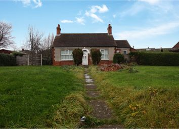Thumbnail 2 bed detached bungalow for sale in School Road, South Killingholme, Immingham