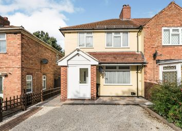 Thumbnail 3 bed end terrace house for sale in Bordesley Green East, Stechford, Birmingham