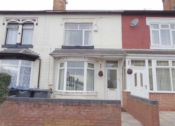Thumbnail 3 bed terraced house for sale in St Agathas Road, Ward End, Birmingham