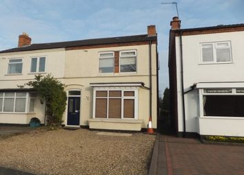 Thumbnail 3 bed semi-detached house to rent in Green Lanes, Wylde Green, Sutton Coldfield