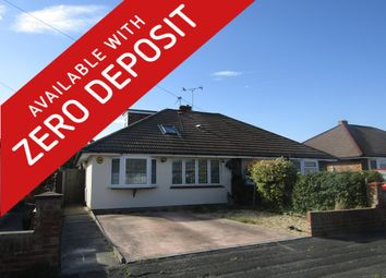 Thumbnail 3 bedroom semi-detached bungalow to rent in Goodwood Road, Gosport