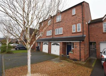 Thumbnail 4 bed town house for sale in Parker Way, Congleton