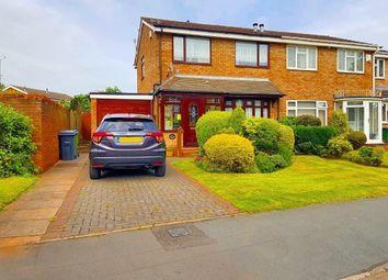 Thumbnail 3 bedroom semi-detached house for sale in Devereux Road, West Bromwich, West Midlands