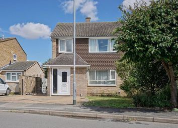 Thumbnail 3 bed semi-detached house for sale in Gordon Road, Little Paxton, St. Neots