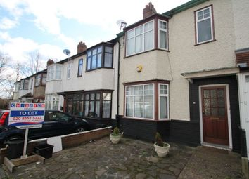 Thumbnail 3 bedroom terraced house to rent in Sherwood Road, Ilford