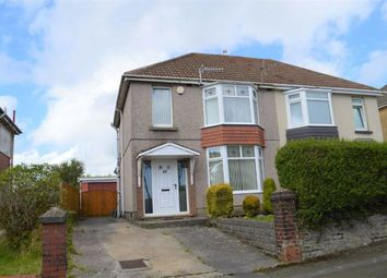 Thumbnail 3 bed semi-detached house for sale in Pentyla Road, Swansea