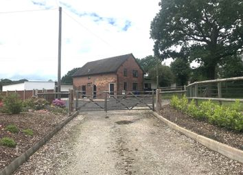 Thumbnail 3 bed equestrian property to rent in Black Pitts Stables, Blythe Bridge Bank, Kingstone, Uttoxeter