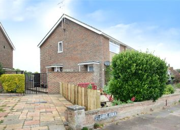 Thumbnail 2 bed flat for sale in St. Johns Avenue, Goring-By-Sea, Worthing