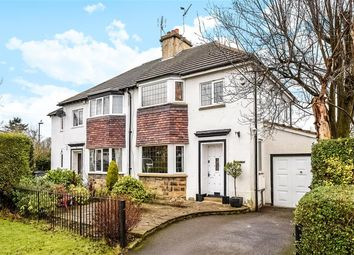 Thumbnail 4 bed semi-detached house for sale in New Way, Guiseley, Leeds