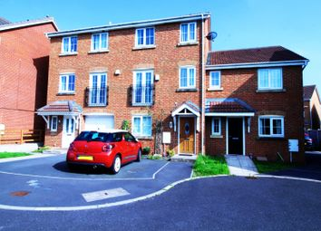 Thumbnail 4 bed town house for sale in Keats Close, Blackpool, Lancashire