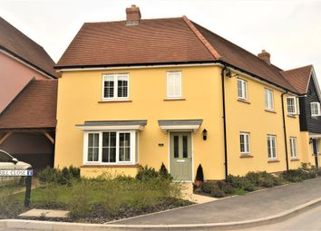Thumbnail 3 bed semi-detached house for sale in Elers Way, Thaxted, Dunmow