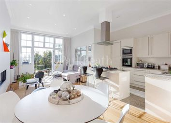 Thumbnail 3 bed flat to rent in Lyndhurst Road, Hampstead, London
