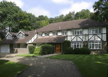 Thumbnail 6 bed detached house to rent in Albany Close, Esher