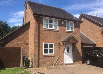 Thumbnail 4 bed detached house to rent in Gorse Drive, Smallfield, Horley