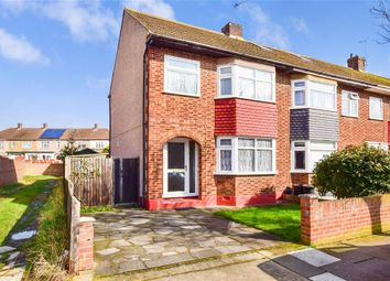 Thumbnail 3 bed end terrace house for sale in South Hall Drive, Rainham, Essex
